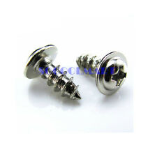 500Pcs M2x4mm Phillips Drive Round Washer Head Micro Self Tapping Screw