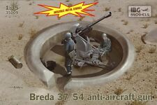 BREDA 37/54 37mm WW II ITALIAN ANTI-AIRCRAFT GUN 1/35 IBG