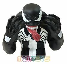Marvel Black Spider-Man Venom Bust Bank Piggy 3D Toy Figure Coin Bank