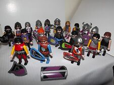 Lot of 19 Playmobil People Figures Medieval Soldiers for Castle Fortress Knights