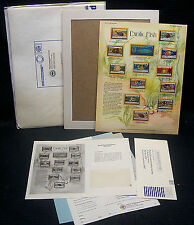 OPC Exotic Fish Postal Commemorative Society World Of Stamps Series Panel