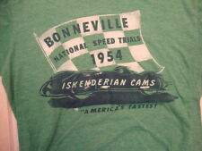 Bonneville National Speed Trials 1954 Iskenderian Cams Throwback T Shirt Size S