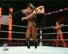 "NIKKI BELLA TWINS WWE PHOTO STUDIO 8x10"" OFFICIAL WRESTLING PROMO NEW"