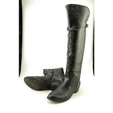 G By Guess Alora Women US 8 Black Knee High Boot Pre Owned  1194