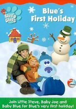 BLUE'S CLUES: BLUE'S FIRST HOLIDAY - DVD - Region 1 - Sealed