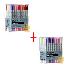 DHL 5DAYS TOO COPIC Ciao Set 36 A+B color 72 PEN SET Artists Markers Anime Comic