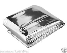 Emergency Mylar Survival Blanket Disaster Outdoor Camping Bug-Out-Bag Firstaid