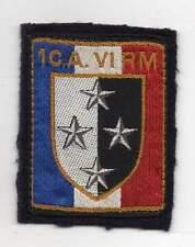 insigne tissu - 1er corps d'armée - 6° région militaire (sans accroche)