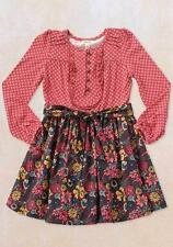 NWT MATILDA JANE Friends Forever TATIANA Red Dress Back To School Tween 8