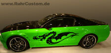 Car Tattoo SET Ctt-004 Auto Aufkleber Drache Drachen Tribal  60 x 19,5 cm   2 x