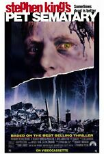 "PET SEMATARY Movie Poster [Licensed-NEW-USA] 27x40"" Theater Size  Stephen King"