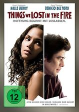 HALLE/BERRY,MICAH/DEL TORO,BENICIO BERRY - THINGS WE LOST IN FIRE   DVD NEU