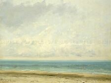 GUSTAVE COURBET FRENCH CALM SEA OLD ART PAINTING POSTER PRINT BB5550A