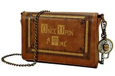 ABC Once Upon a Time Story Book Cover Crossbody Shoulder Bag Purse Hook Fob Gift