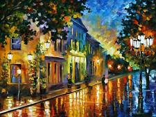 ON THE WAY TO MORNING    —  Oil Painting On Canvas By Leonid Afremov