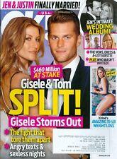 2015 OK! Magazine: Tom Brady And Gisele Bündchen Split/Khloe Kardashian