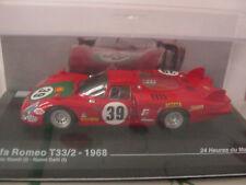 ALFA ROMEO T33/2 24 Heures Du MANS 1968 IXO 1/43