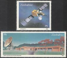 Zimbabwe 1985 Space/Satellite/Radio/Communications/Telecomms 2v set (n23056)