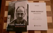 Frank Auerbach DUAL SIGNED Speaking and Painting by Catherine Lampert 1st/1st