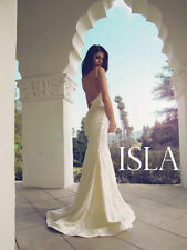 "LAUREN ELAINE ""Isla"" Gown-100% Authentic-Sim. to Inbal Dror, Berta, Katie May"