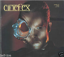 Cinefex #47 James Cameron T2 Terminator 2 RARE Behind the Scenes Pics