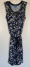 Simply Vera Vera Wang Women's Size Small Blue Floral Dress