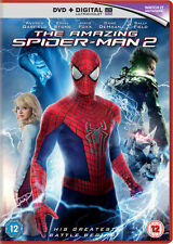 THE AMAZING SPIDER-MAN 2 DVD + DIGITAL ULTRAVIOLET COPY - BRAND NEW & SEALED