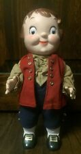 "Vintage 1976 ""Campbell's Kid"" Paul Revere Collectible Boy Doll  GVC"