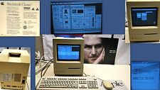 Apple Macintosh Classic w/Mousepad, Keyboard & Mouse Works (will ship worldwide