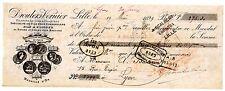 FRANCE BILLET à ORDRE MANDAT LILLE 1899  LYON EXPOSITIONS UNIVERSELLES SCALBERT