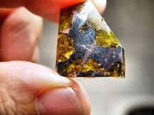 GREAT DEAL! OUTSTANDING OLIVINE! GORGEOUS IMILAC PALLASITE METEORITE 7.3 GMS