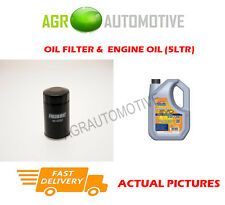 PETROL OIL FILTER + LL 5W30 ENGINE OIL FOR SUZUKI KIZASHI 2.4 178BHP 2010-
