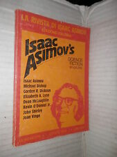 ISAAC ASIMOV S SCIENCE FICTION Mondadori 1978 libro fantascienza narrativa di