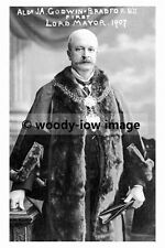 pt6673 - Bradford 's 1st Lord Mayor , J A Godwin , Yorkshire - photo 6x4