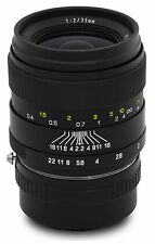 Oshiro 35mm f/2 Wide Angle Lens for Samsung Galaxy NX NX1 NX3000 NX2000 NX500