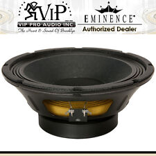 Eminence BETA-10A 10 Pro Audio Mid-Bass 8-Ohm 500W Bass Guitar Speaker -Mint-