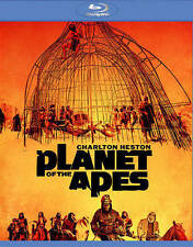 PLANET OF THE APES/Charlton Heston/BLU-RAY/BUY ANY 4 ITEMS SHIP FREE