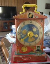 Talking Clock Fisher Price Toy Teaching Clock 998 Used Works