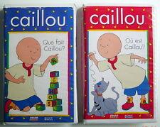2 CASSETTES VHS DE CAILLOU