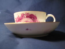 MEISSEN, CUP AND SAUCER, MARCOLINI PERIOD 1774-1814, PCS1