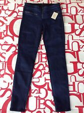 Guess Tiesto Collection Blue Obsession Mid Rise Skinny Jeans Size 27
