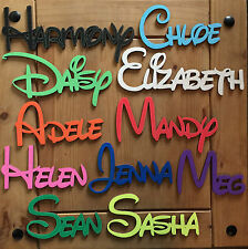 DISNEY Wooden Words/Letters,Personalised Names Wedding/Home/Gift letters names