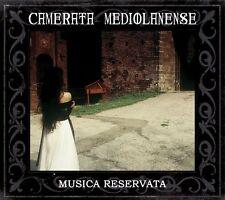 Camerata Mediolanense musica reservata [+ Bonus cd] 2cd DIGIPACK 2013