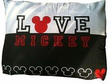 Disney Classic Mickey Mouse Pillow Sham zippered pillowcase new