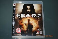 F.E.A.R 2 Project Origin PS3 Playstation 3 FEAR **FREE UK POSTAGE**