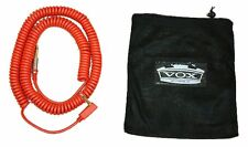 VOX VCC-90 VCC Vintage Coiled Cable 9m RED Guitar / Bass 29.5 feet