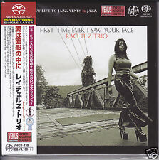 """Rachel Z Trio First Time Ever I Saw Your Face"" Japan Venus Records DSD SACD CD"