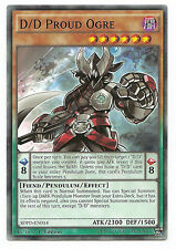 3X D/D Proud Ogre -Common -SDPD-EN014 -NM-Yugioh Pendulum Domination