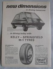 1966 Kelly Springfield M-1 Tyres Original advert