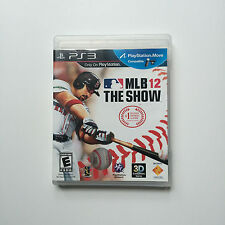 MLB 12 The Show Baseball (Sony PlayStation 3, 2012) PS3 complete CIB game